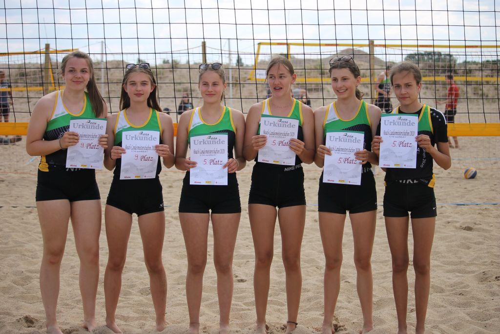 Landesmeisterschaften Beachvolleyball Jugend 2020